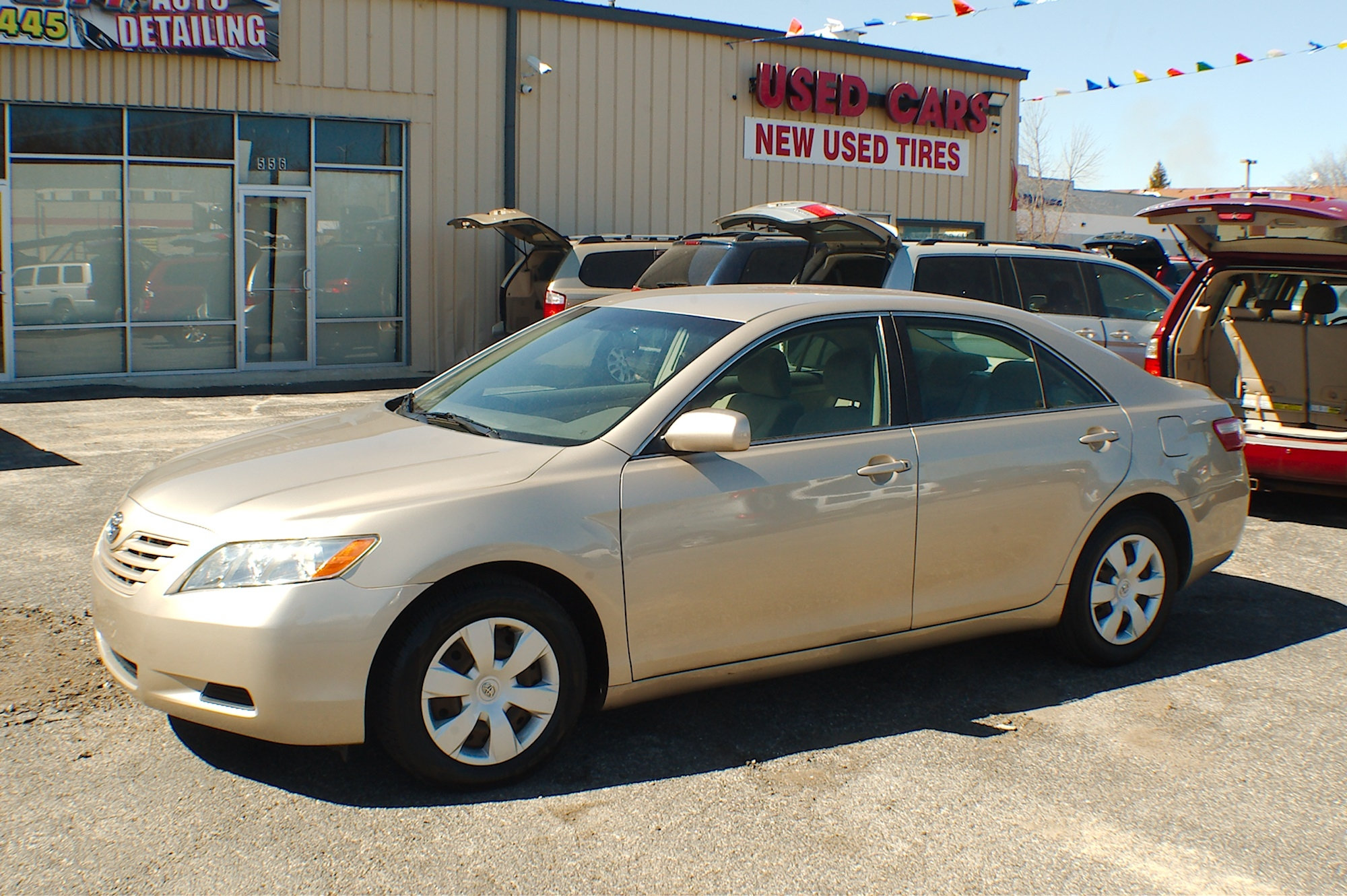2007 Toyota Camry LE Beige Sedan Used Car Sale Antioch Zion Waukegan Lake County Illinois