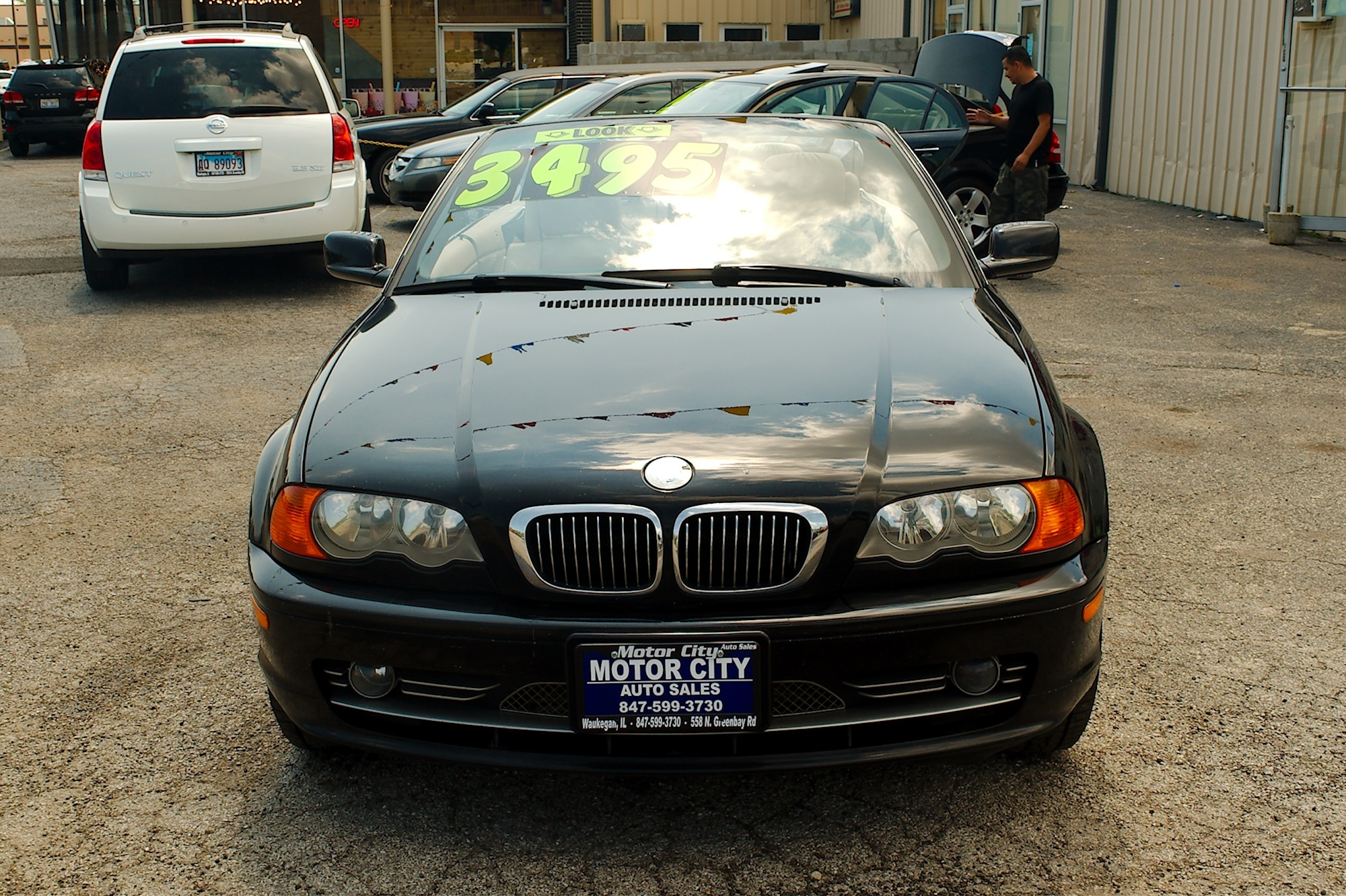 2001 Bmw 330ci Black Coupe Convertible Used Car Sale