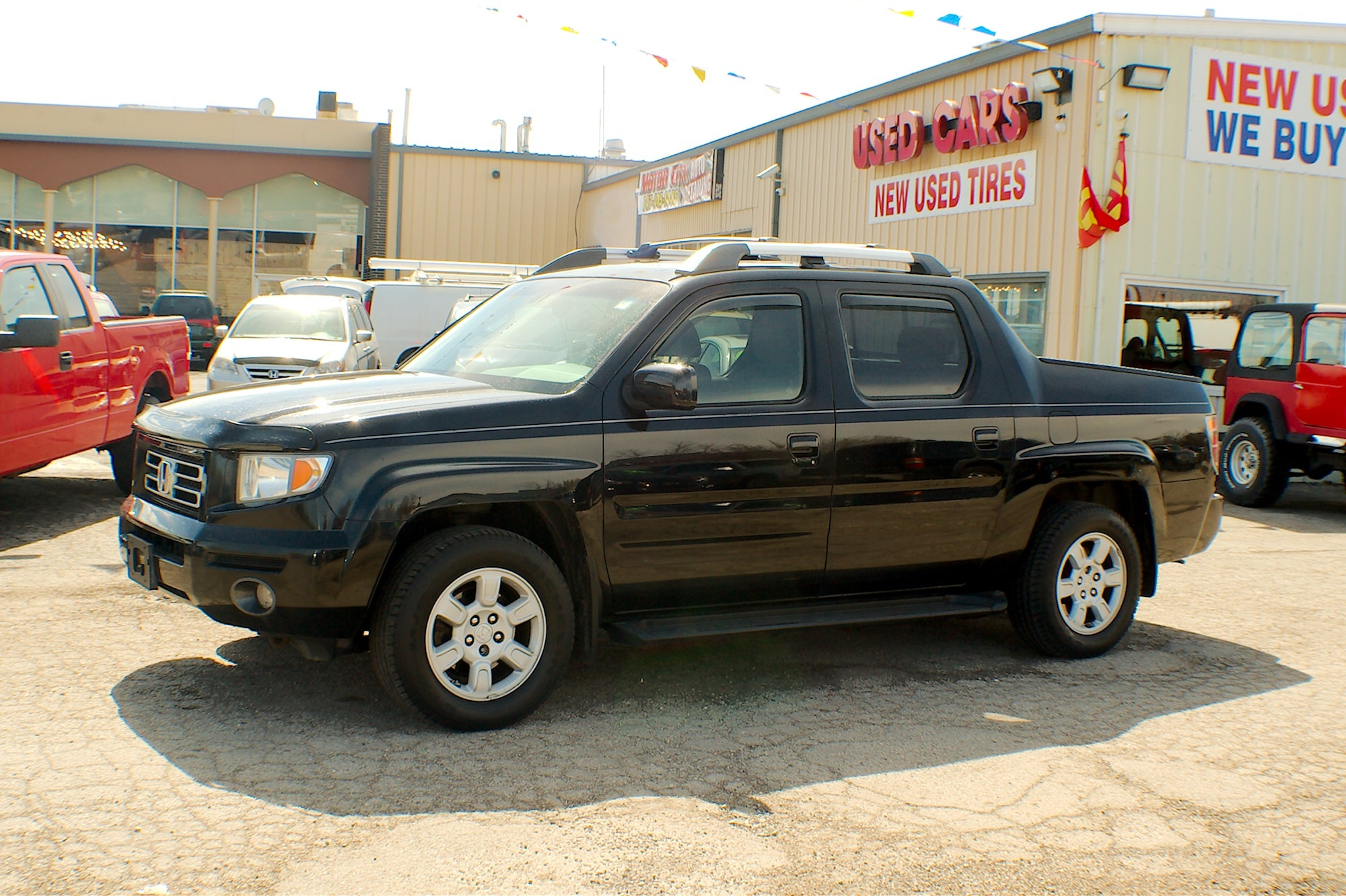 2006 Honda Ridgeline Black 4WD Crew Cab Truck Sale Antioch Zion Waukegan Lake County Illinois