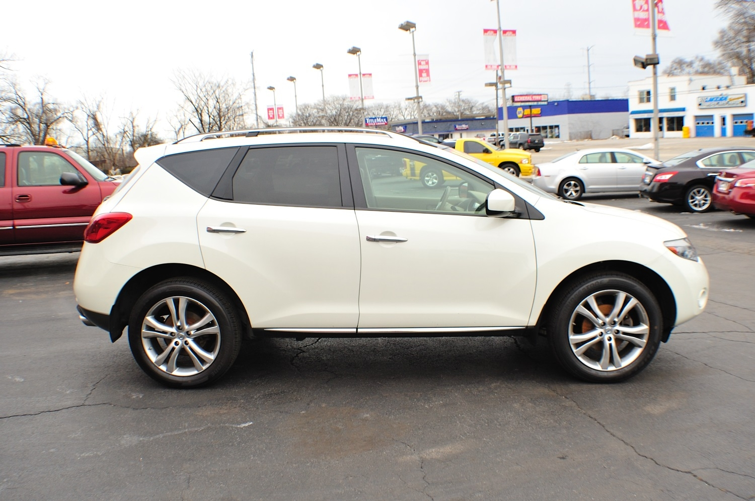 2010 Nissan Murano LE AWD White SUV Sale Bannockburn Barrington Beach Park