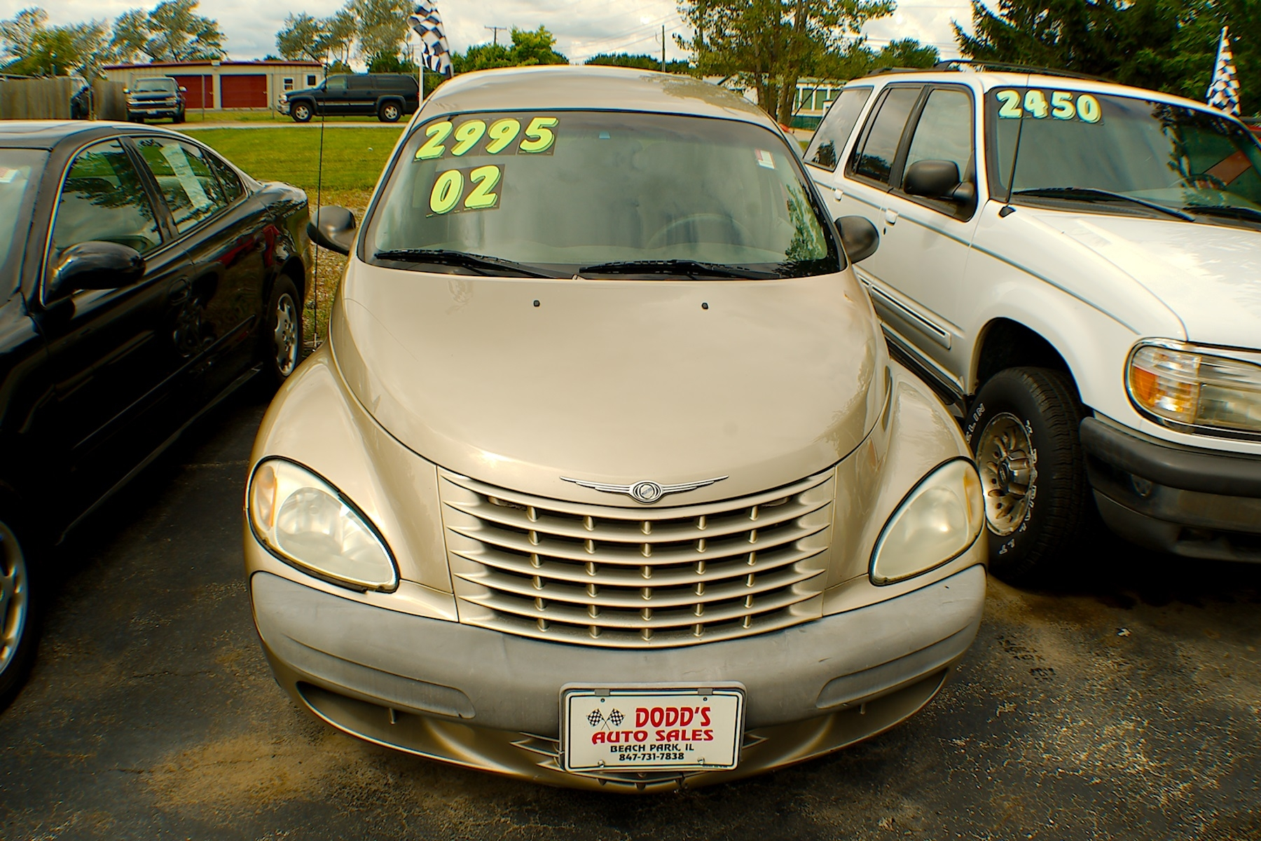 2002 Chrysler PT Cruiser Sand Wagon Used Car Sale Gurnee Kenosha Mchenry Chicago Illinois