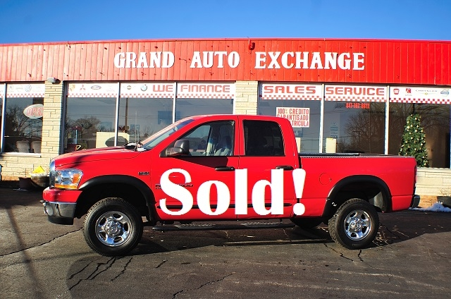 2006 Dodge Ram 2500 Big Horn Red Used 4x4 Truck Sale Antioch Zion Waukegan