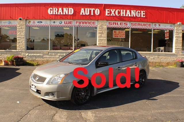 2007 Nissan Sentra SER Gray Sedan Used Car Sale Antioch Zion Waukegan Lake County Illinois
