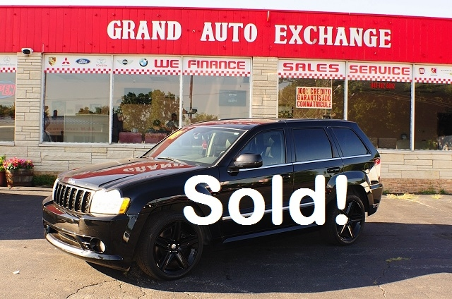 2007 Jeep Grand Cherokee SRT8 Black Navigation used SUV Sale Antioch Zion Waukegan Lake County Illinois