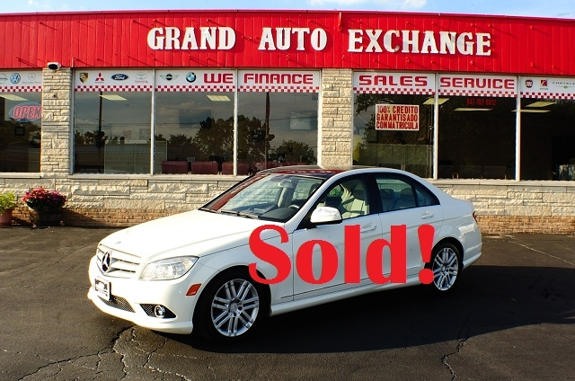 2010 Mercedes Benz C300 4Matic AWD White Sport Sedan sale Antioch Zion Waukegan Lake County Illinois