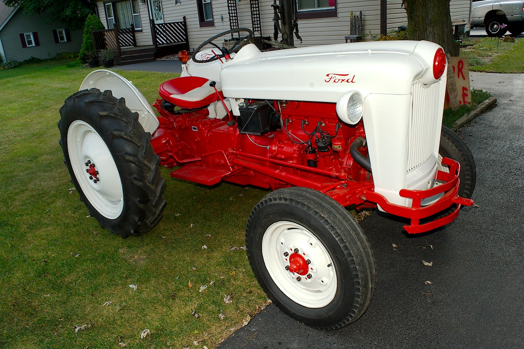 1953 Ford Golden Jubilee Antique Collectible Farm Tractor sale Gurnee Kenosha Mchenry Chicago Illinois
