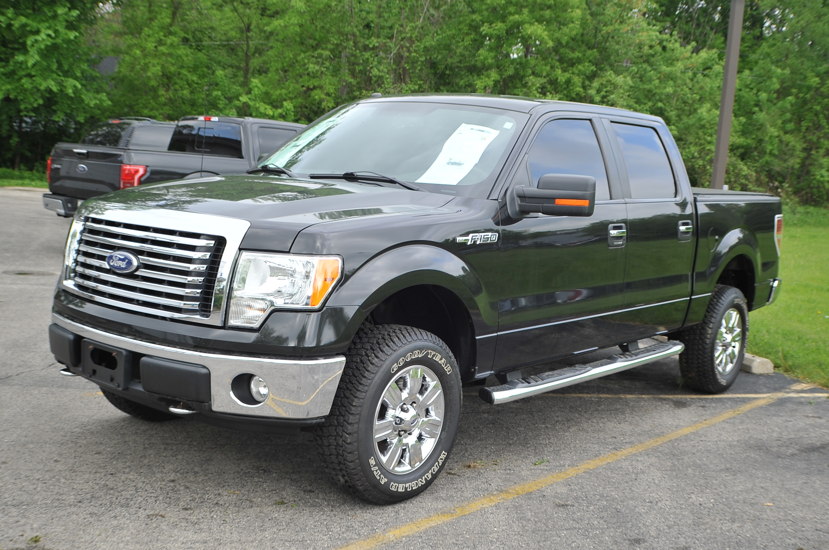 2010 Ford F150 Black 4x4 Super Crew Cab Pickup Truck Sale Zion