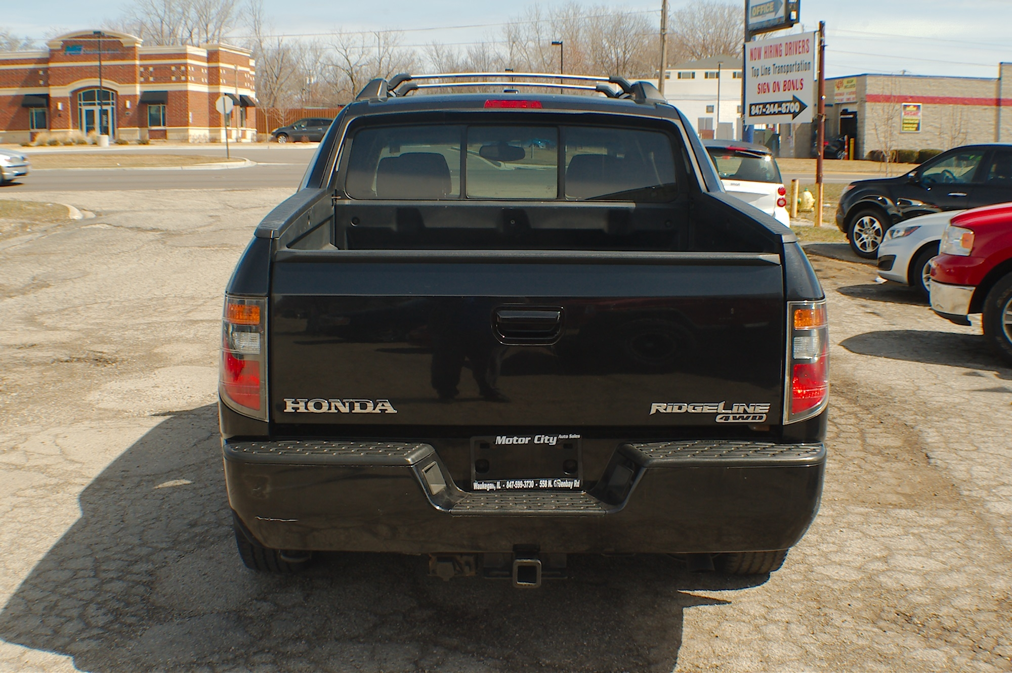 2006 Honda Ridgeline Black 4WD Crew Cab Truck Sale Buffalo Grove Deerfield Fox Lake Antioch