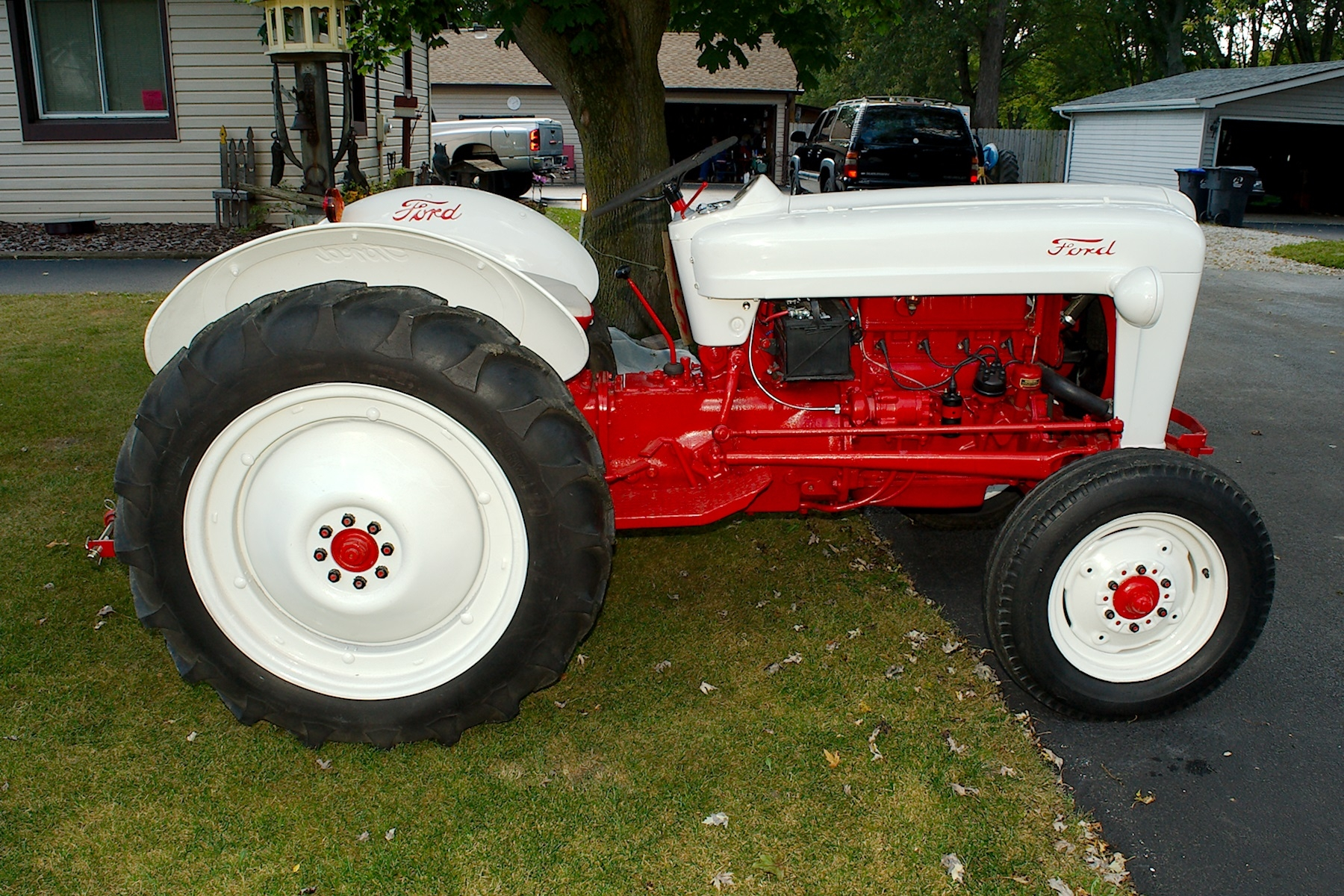 1953 Ford Golden Jubilee Antique Collectible Farm Tractor sale Buffalo Grove Deerfield Fox Lake Antioch