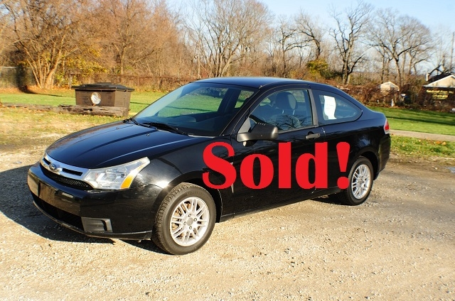 2008 Ford Focus SE Black Coupe Used Car Sale Antioch Zion Waukegan Lake County Illinois