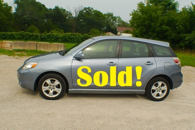 2006 Toyota Matrix Blue Manual Sedan Used Wagon Sale Antioch Zion Waukegan Lake County Illinois
