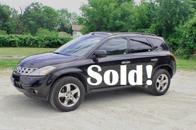 2005 Nissan Murano SL Black AWD SUV Sale Antioch Zion Waukegan Lake County Illinois