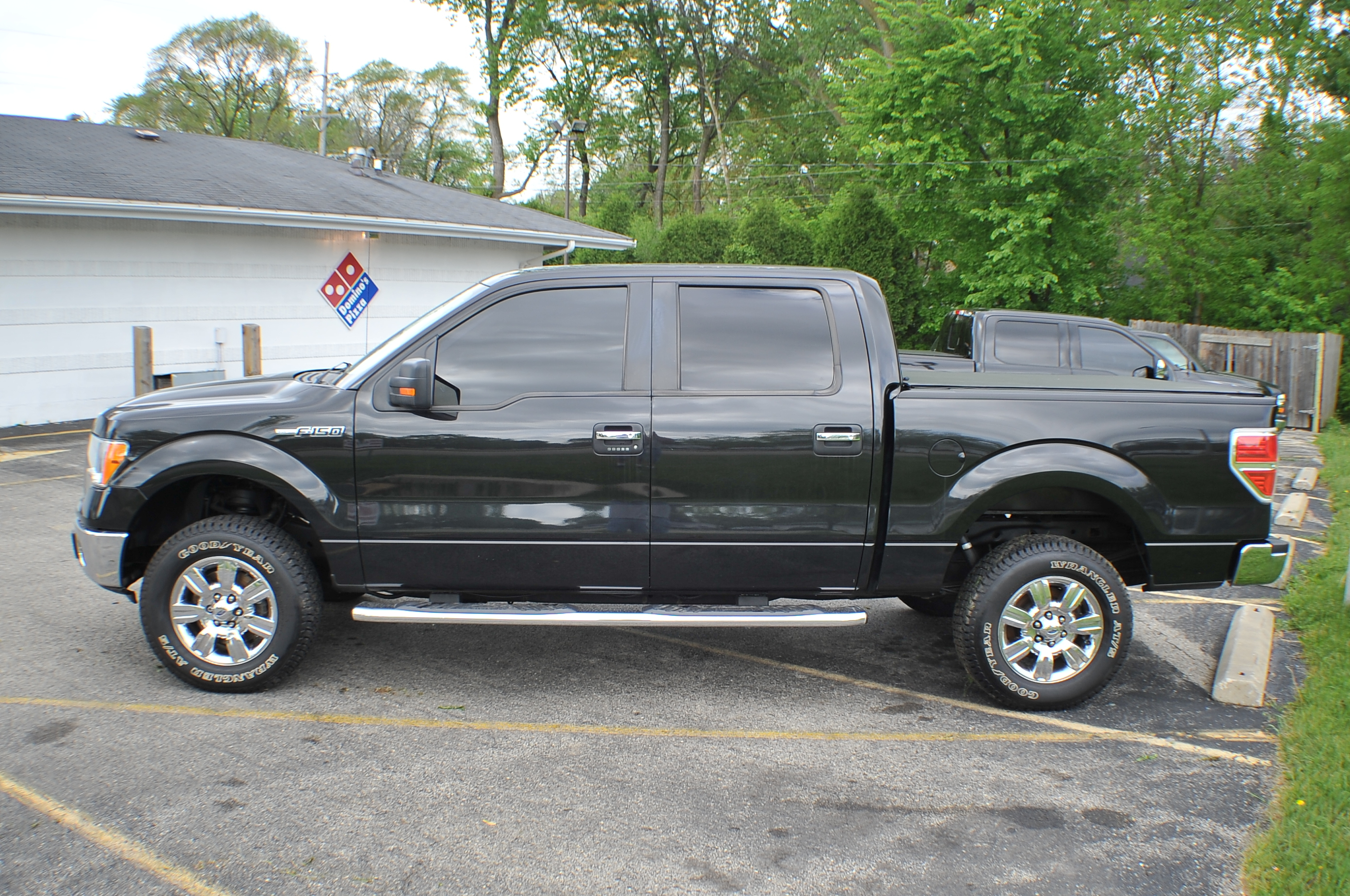 2010 Ford F150 Black 4x4 Super Crew Cab Pickup Truck Sale Libertyville