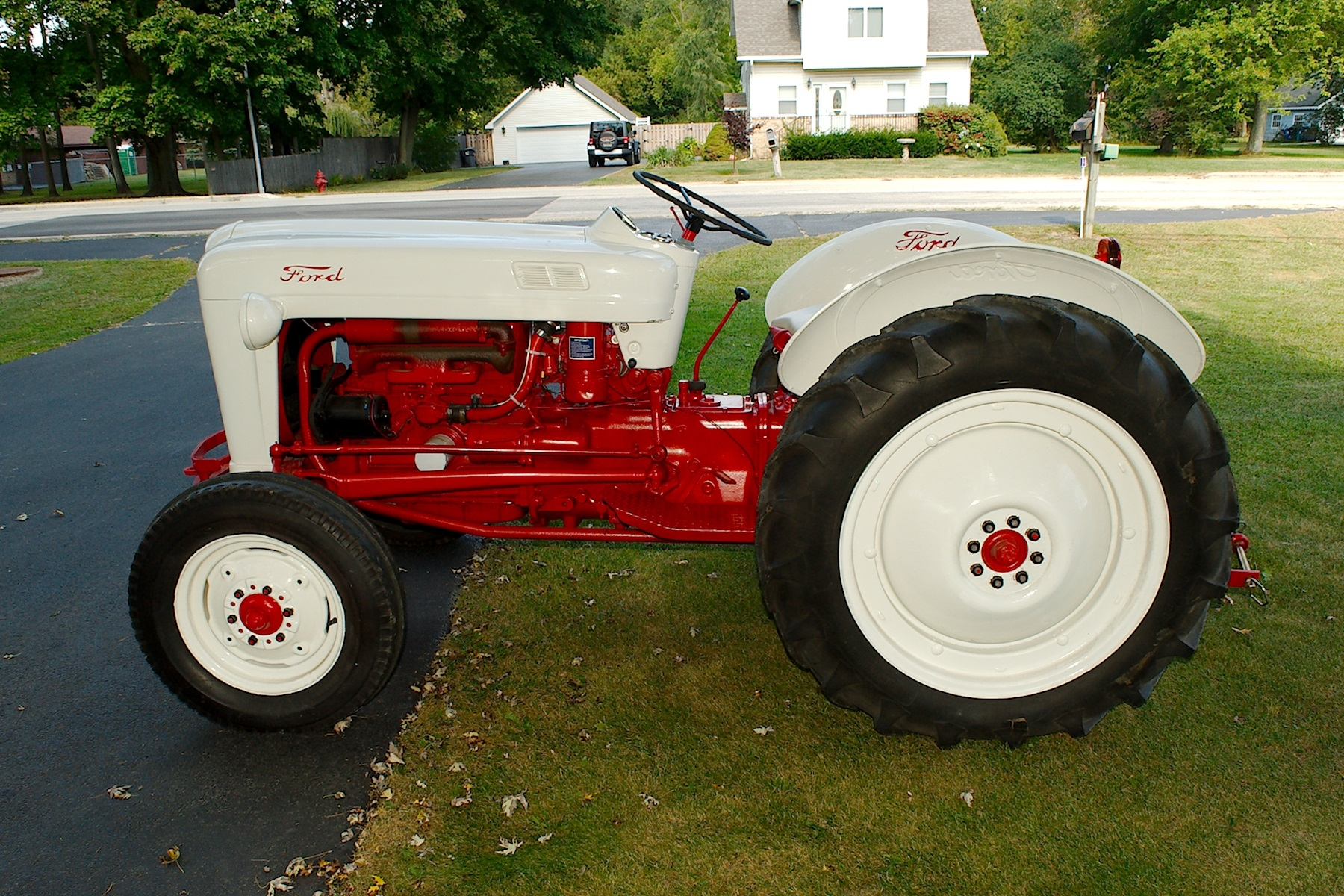 1953 Ford Golden Jubilee Antique Collectible Farm Tractor sale Antioch Zion Waukegan Lake County Illinois