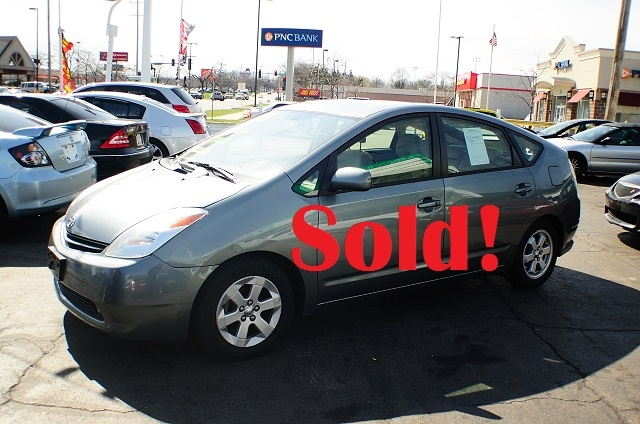 2005 Toyota Prius Hybrid 4Dr Gray Sedan used car sale Antioch Zion Waukegan