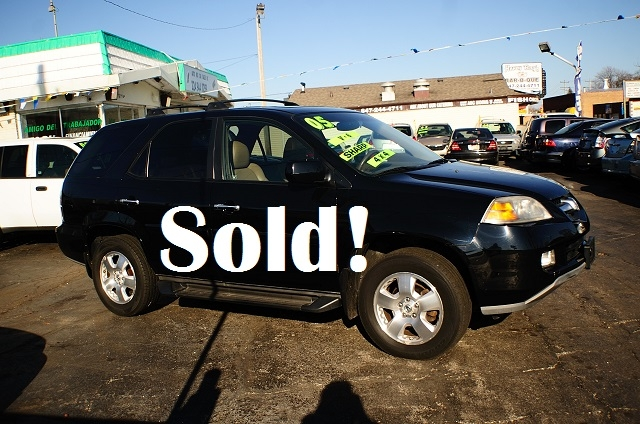 2005 Acura MDX 4Dr Black SUV Used Car Sale Antioch Zion Waukegan Gurnee