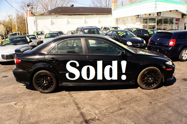 2004 Mazda 6 Black Manual Shift 4Dr Sedan sale used car Antioch Zion Waukegan