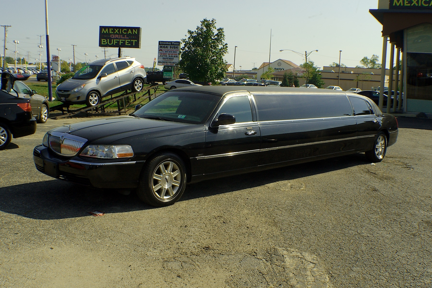 2007 Lincoln Town Car Stretch Limousine Used Car Sale Gurnee Kenosha Mchenry Chicago Illinois