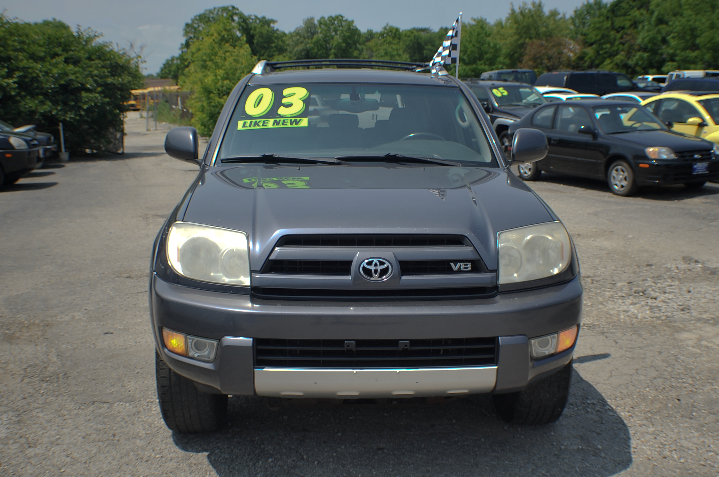 2003 Toyota 4Runner Gray 4x4 SUV Used Car Sale Libertyville Beach Park