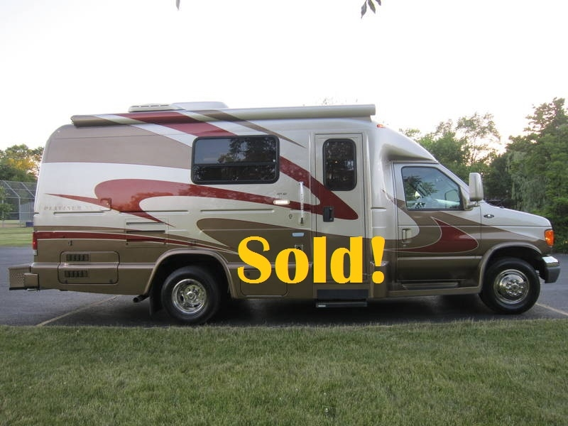 2008 Ford Coach House Platinum XL 221 XD Used RV sale Antioch Zion Waukegan Lake County Illinois