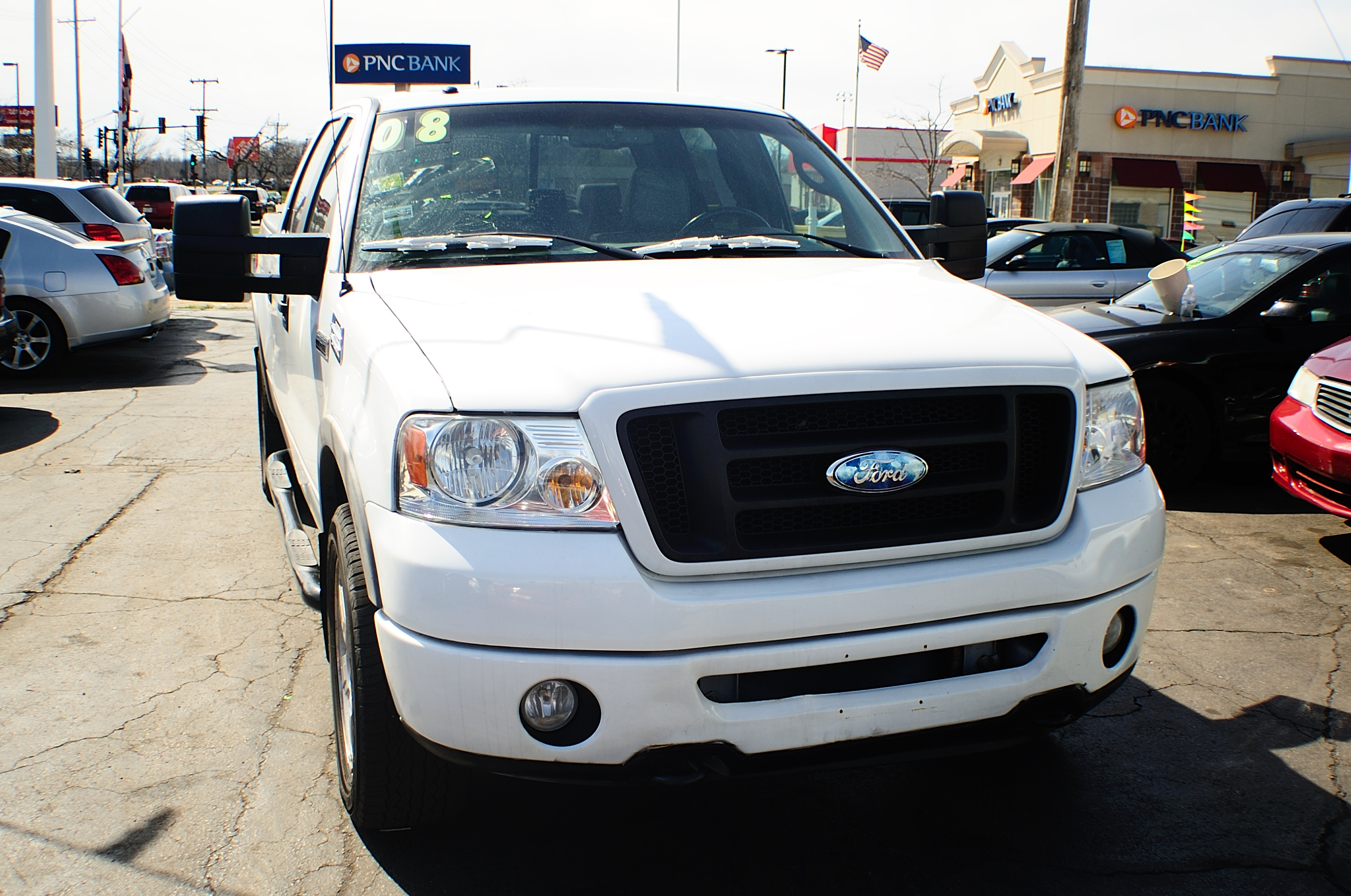 2008 Ford F150 4Dr White Pickup Truck sale Bannockburn Barrington Beach Park