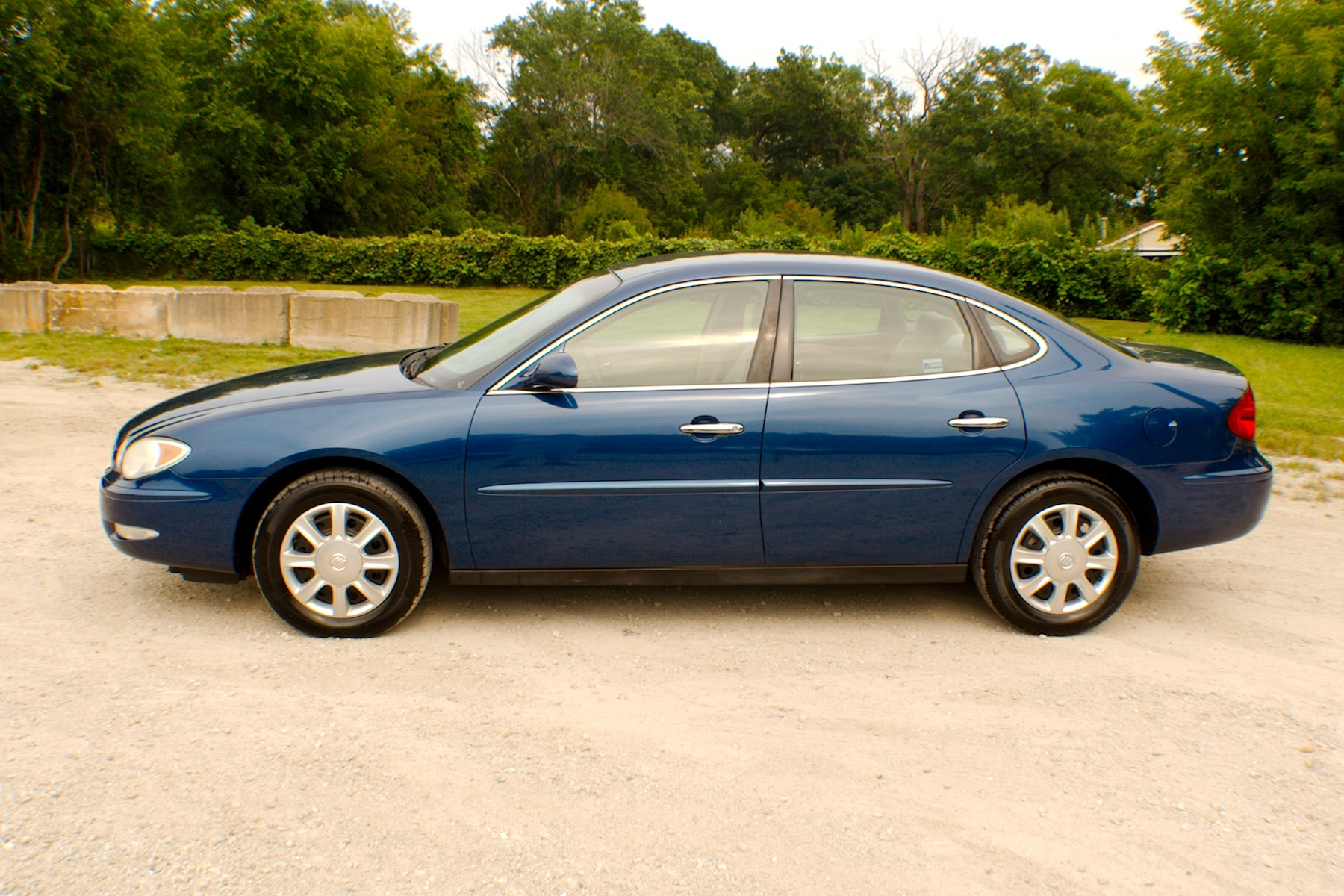 2005 Buick LeCrosse Blue Used Car Sedan Sale Antioch Zion Waukegan Lake County Illinois