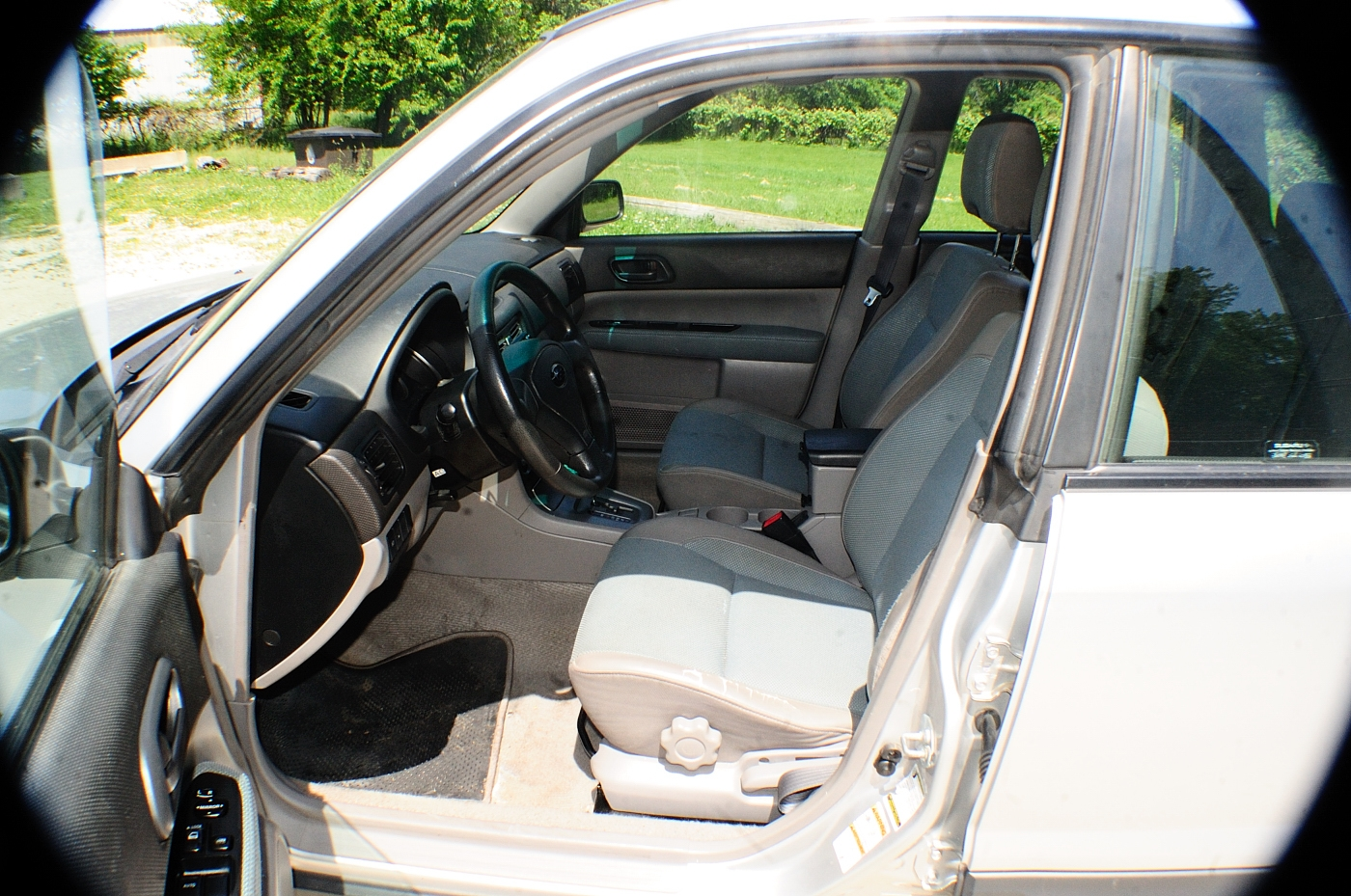 2005 Subaru Forester AWD Silver Used Wagon Sale Highland Park Kildeer Winthrop Harbor