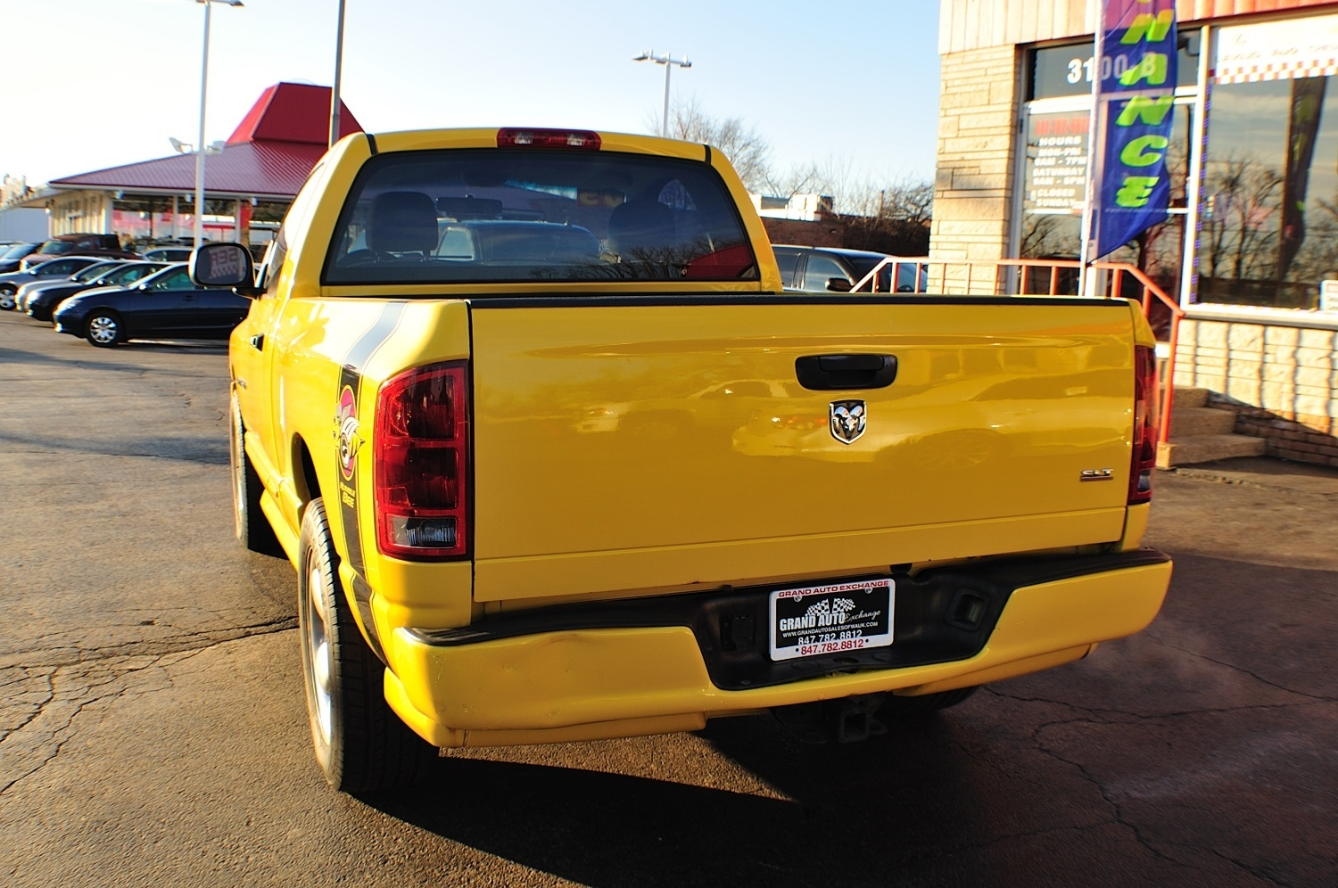 2005 Dodge Ram Yellow Rumble Bee used truck sale Buffalo Grove Deerfield Fox Lake Antioch
