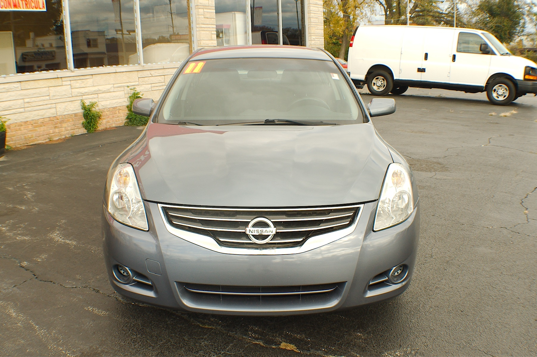 2011 Nissan Altima S Blue Sedan Used Car Sale