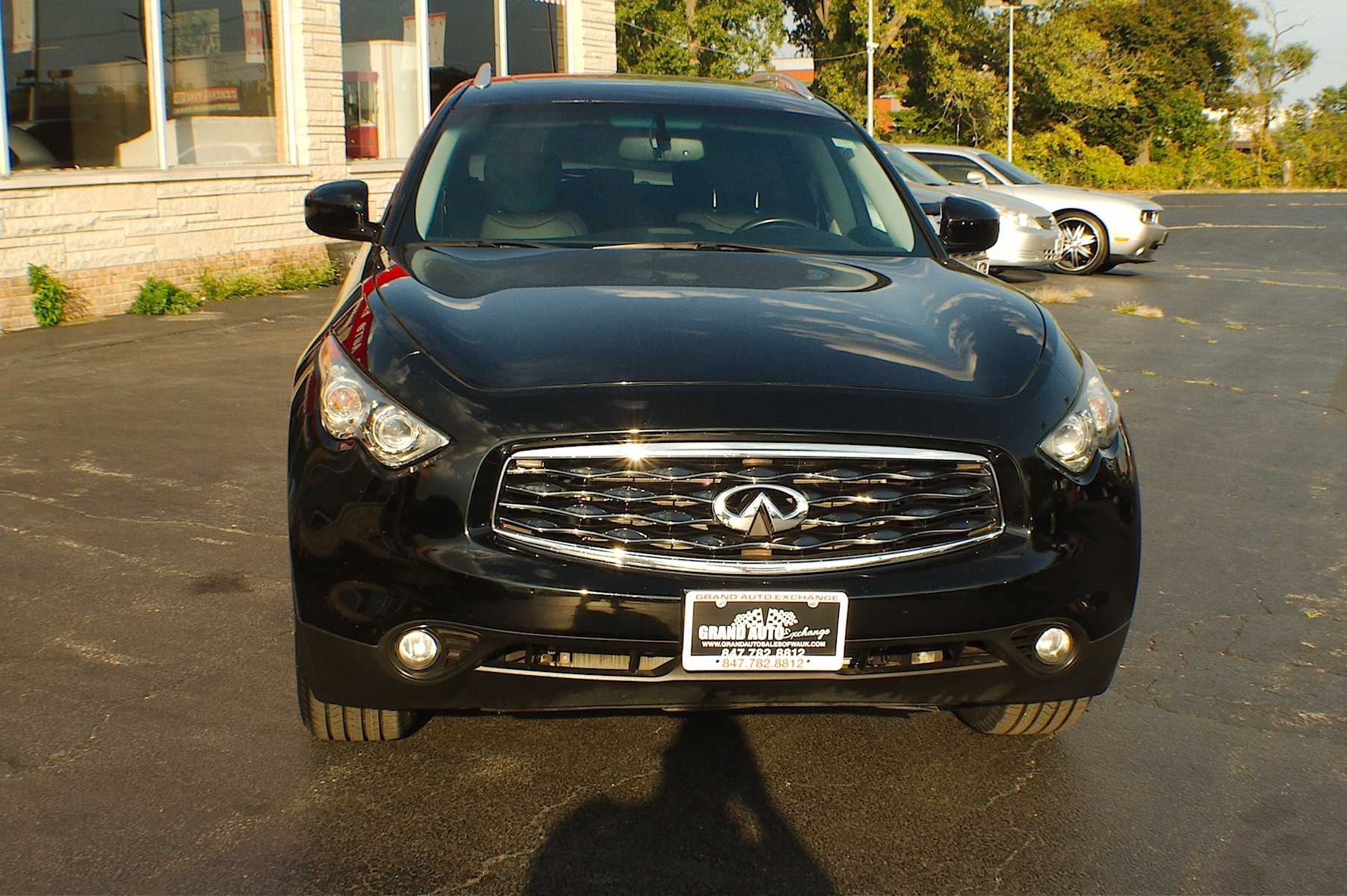2009 Infiniti FX35 Black SUV Used Car Sale Gurnee Kenosha Mchenry Chicago Illinois