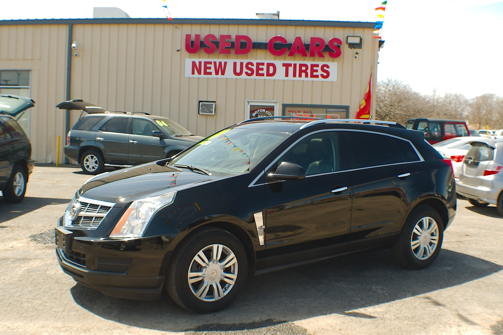 2010 Cadillac SRX Black Wagon Used Car Sale Antioch Zion Waukegan Lake County Illinois
