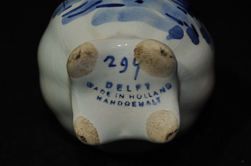 Delft Holland Vase Numbered 294 Antique gift