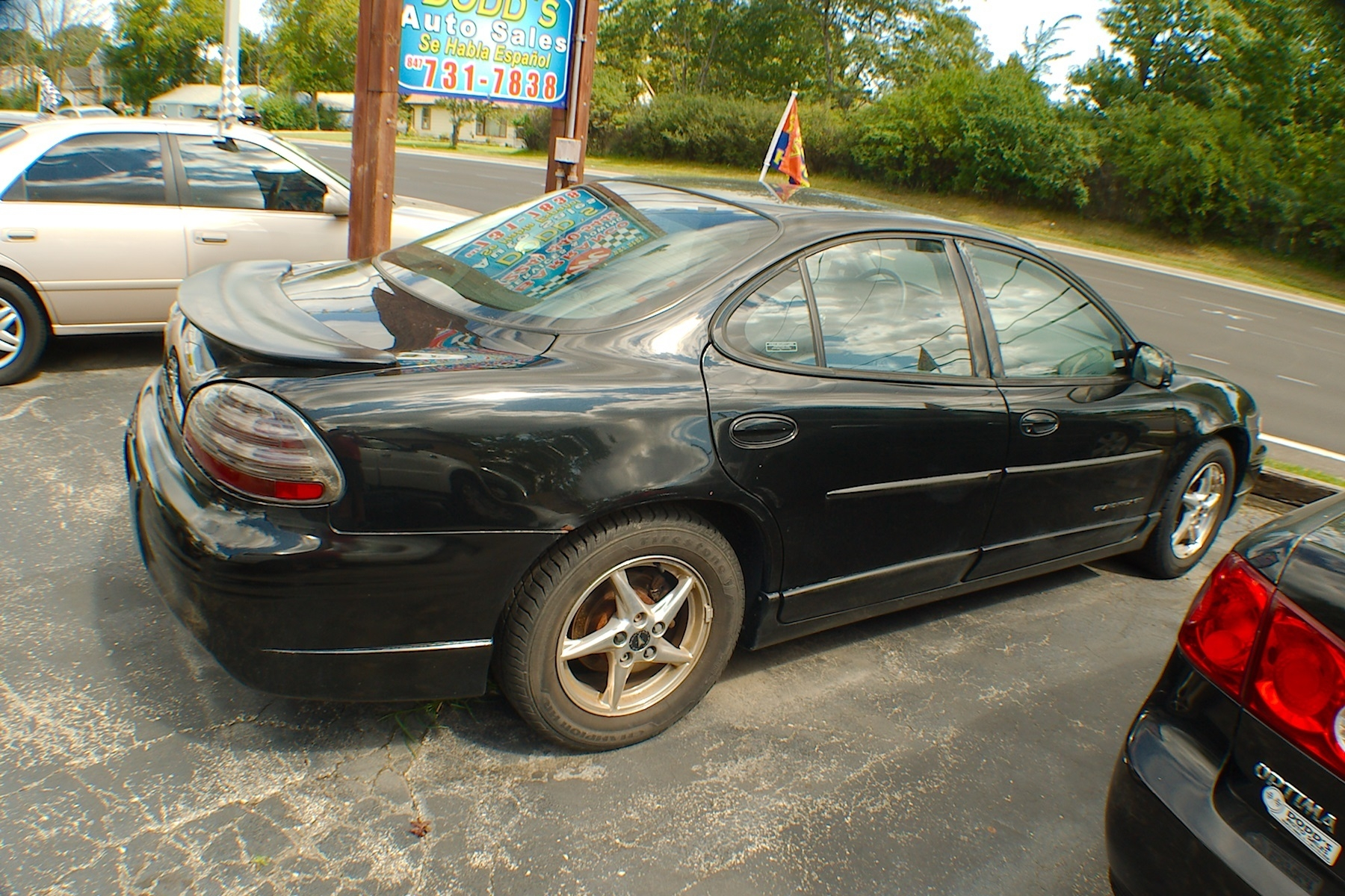 2001 Pontiac Grand Prix Black Sedan Sale Bannockburn Barrington Beach Park