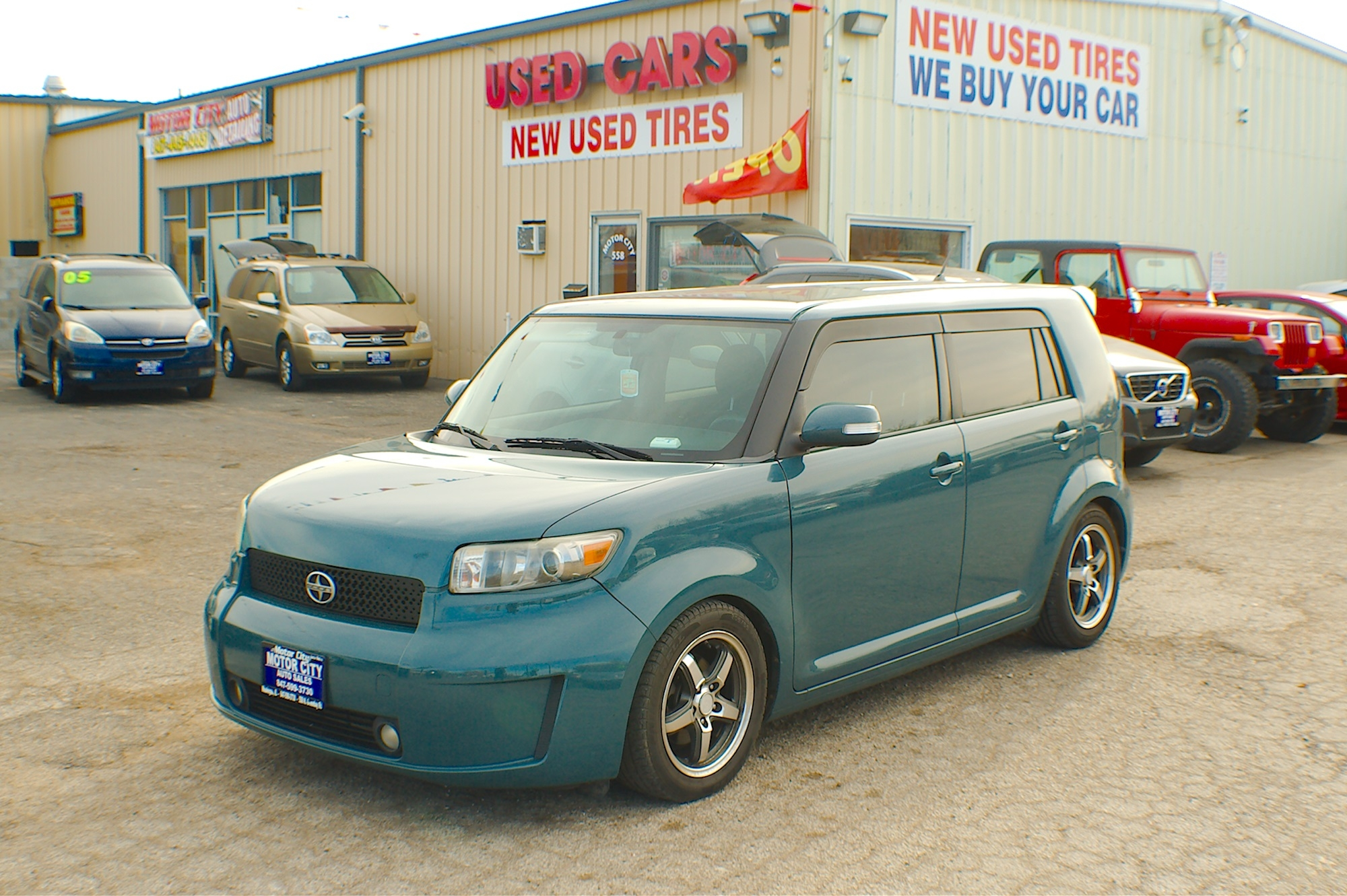 2008 Scion XB Teal Sedan used car Sale Antioch Zion Waukegan Lake County Illinois