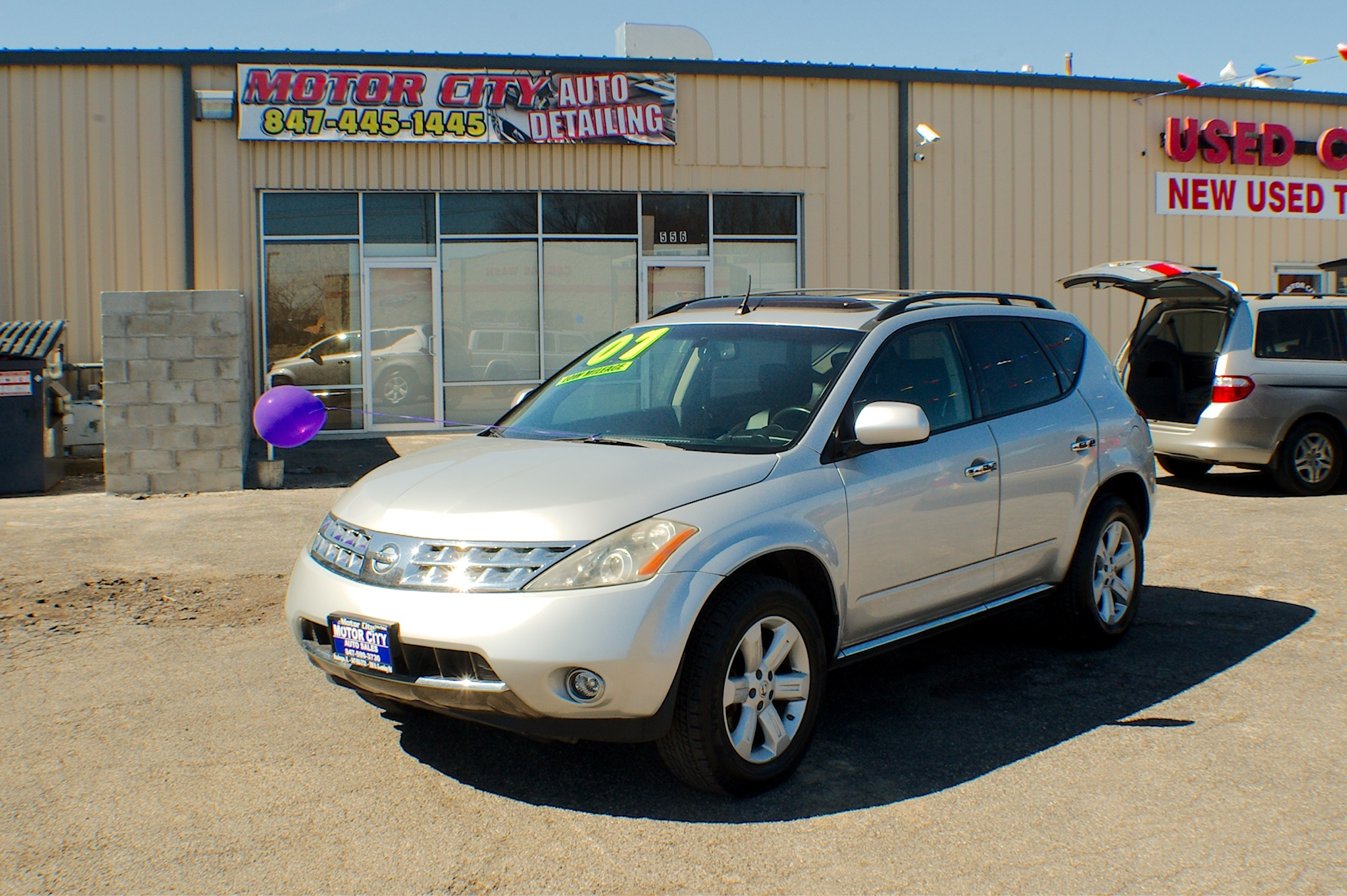 2007 Nissan Murano SL AWD Silver Used SUV Sale Antioch Zion Waukegan Lake County Illinois