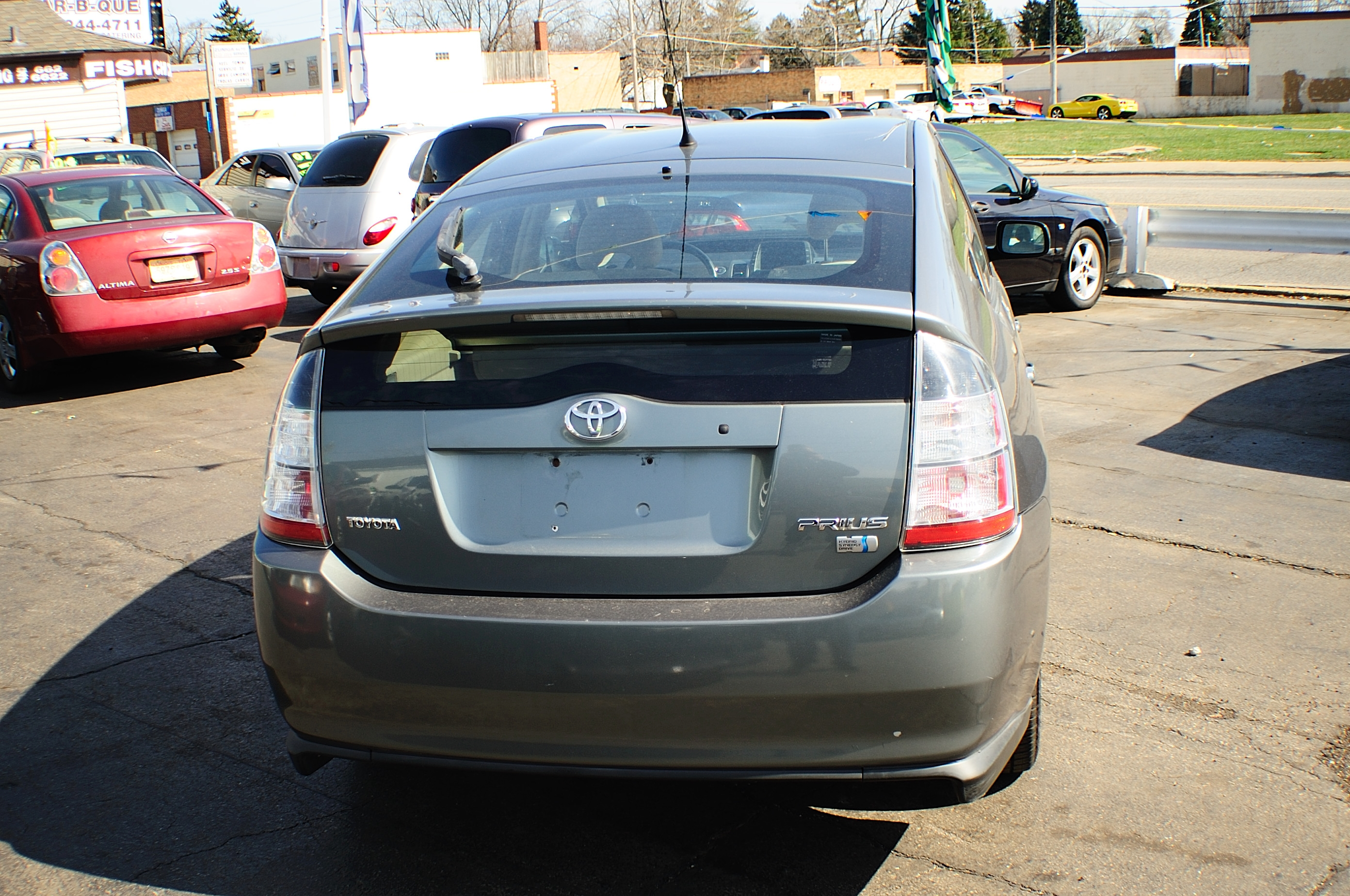 2005 Toyota Prius Hybrid 4Dr Gray Sedan used car sale Buffalo Grove Deerfield Fox Lake