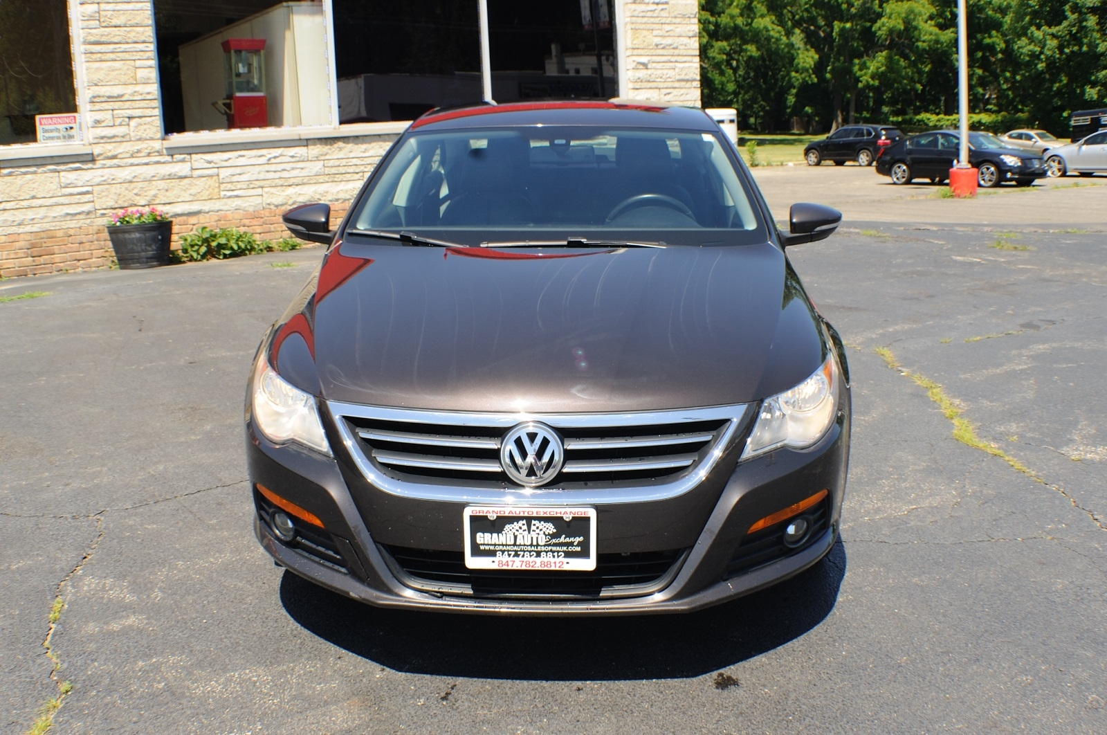 2009 Volkswagen VW CC Black Sedan used car sale Gurnee Kenosha Mchenry Chicago Illinois