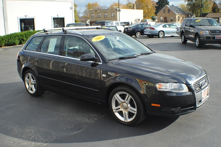 2007 audi a4 quattro black turbo wagon car sale. Black Bedroom Furniture Sets. Home Design Ideas