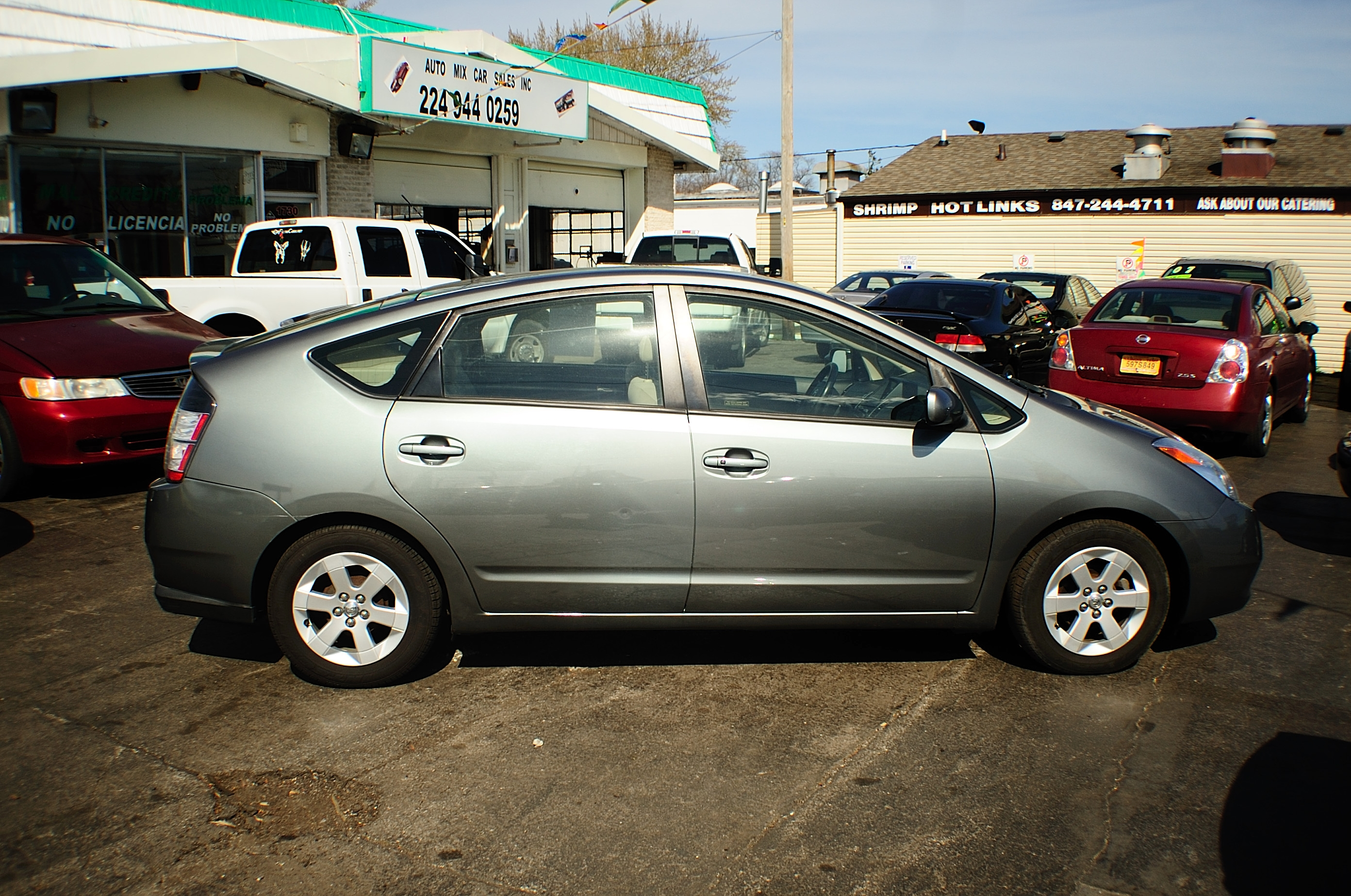 2005 Toyota Prius Hybrid 4Dr Gray Sedan used car sale Bannockburn Barrington Beach Park