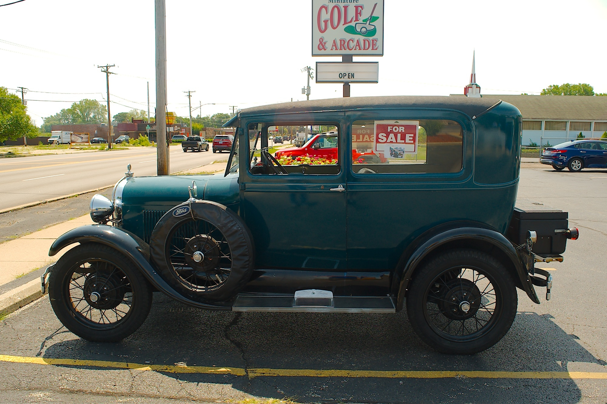 1928 ford model a 2 door sedan for sale