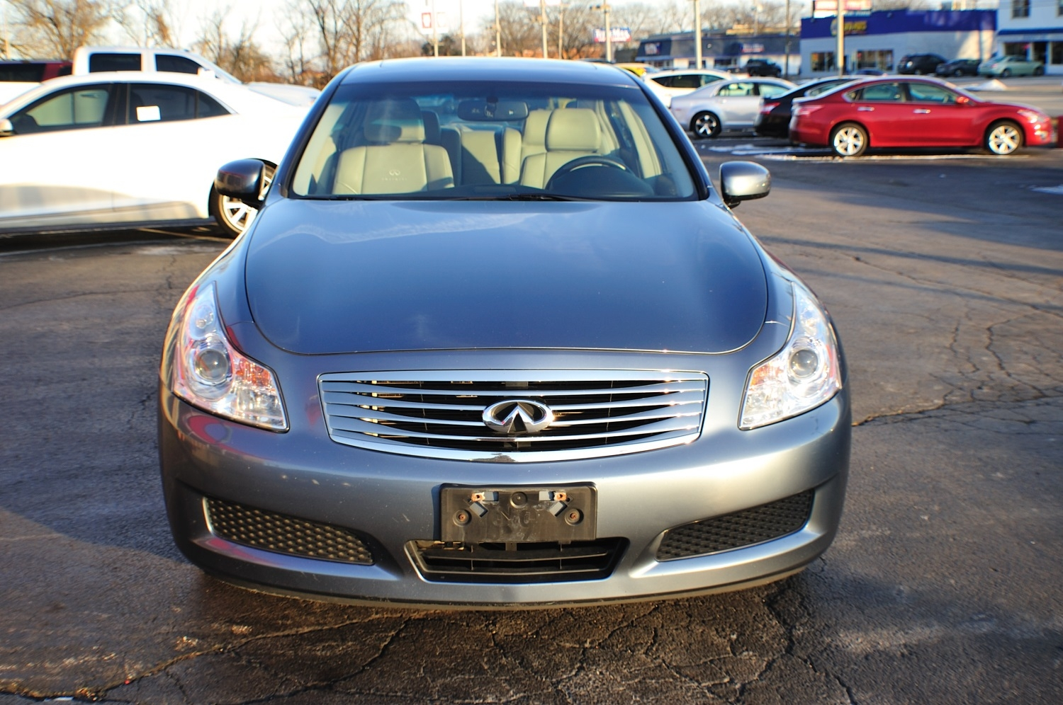 2009 Infiniti G35X Blue Sedan Sale Gurnee Kenosha Mchenry Chicago Illinois