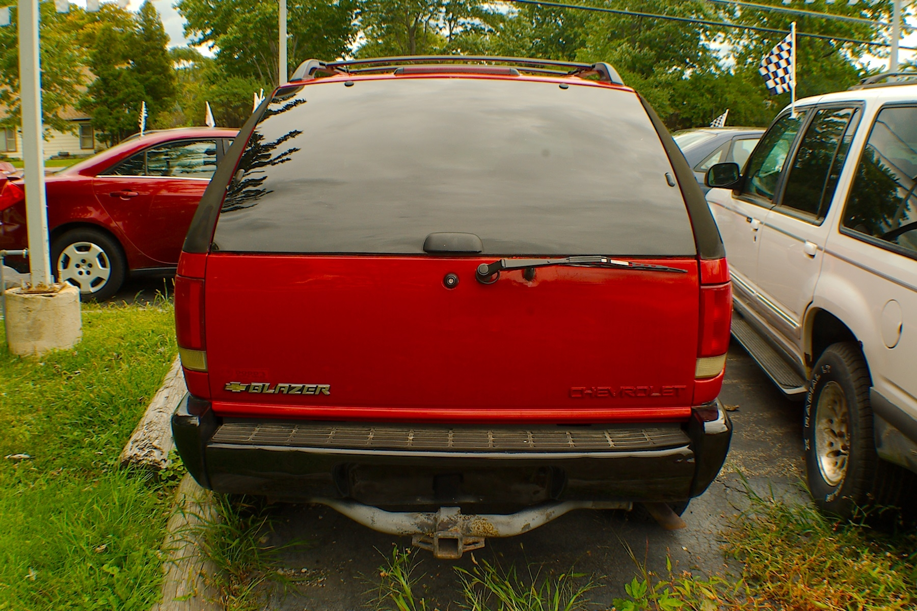 1996 Chevrolet Blazer LS 2Dr Red 4x4 SUV Sale Fox River Grove Grayslake Volo Waucanda