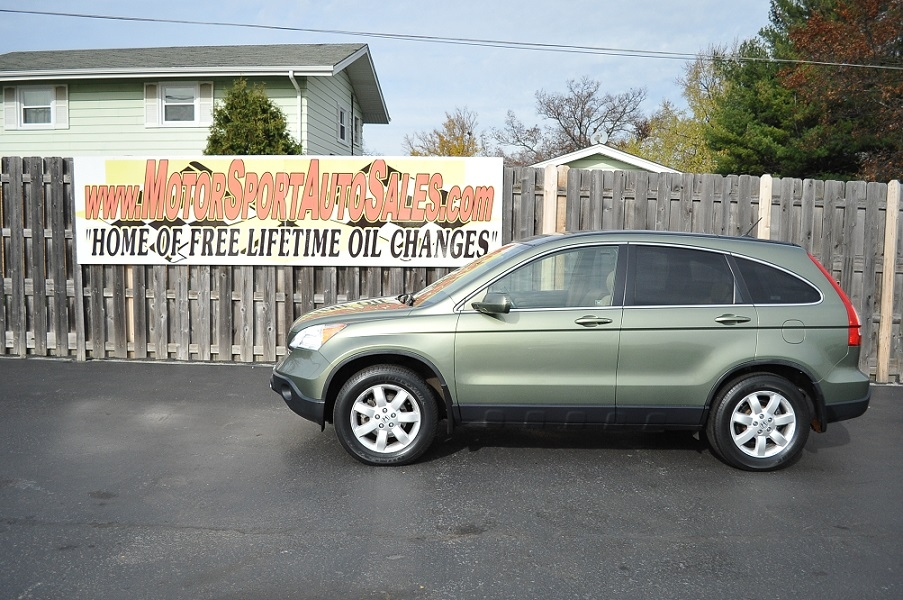 2007 Honda CRV Green Tea Metallic car sale Antioch Zion Waukegan