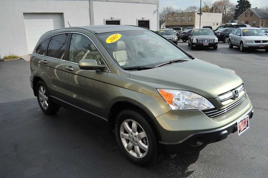 2007 Honda CRV Green Tea Metallic car sale Gurnee Kenosha Mchenry