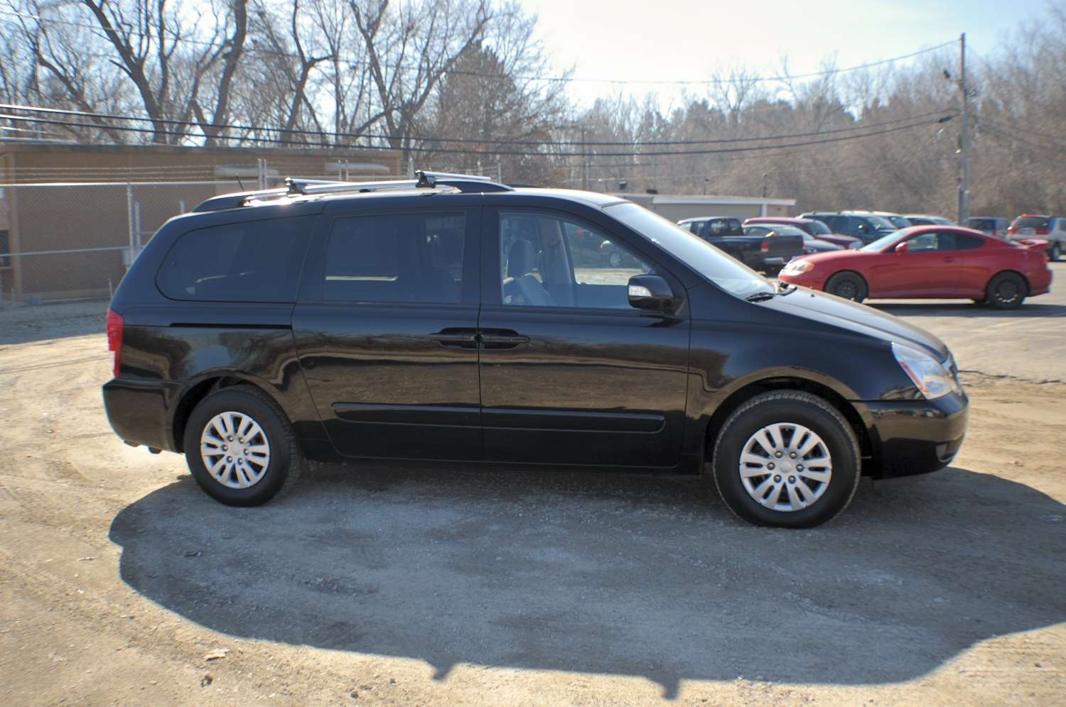 2011 Kia Sedona Black Family Mini Van Sale Bannockburn Barrington Beach Park