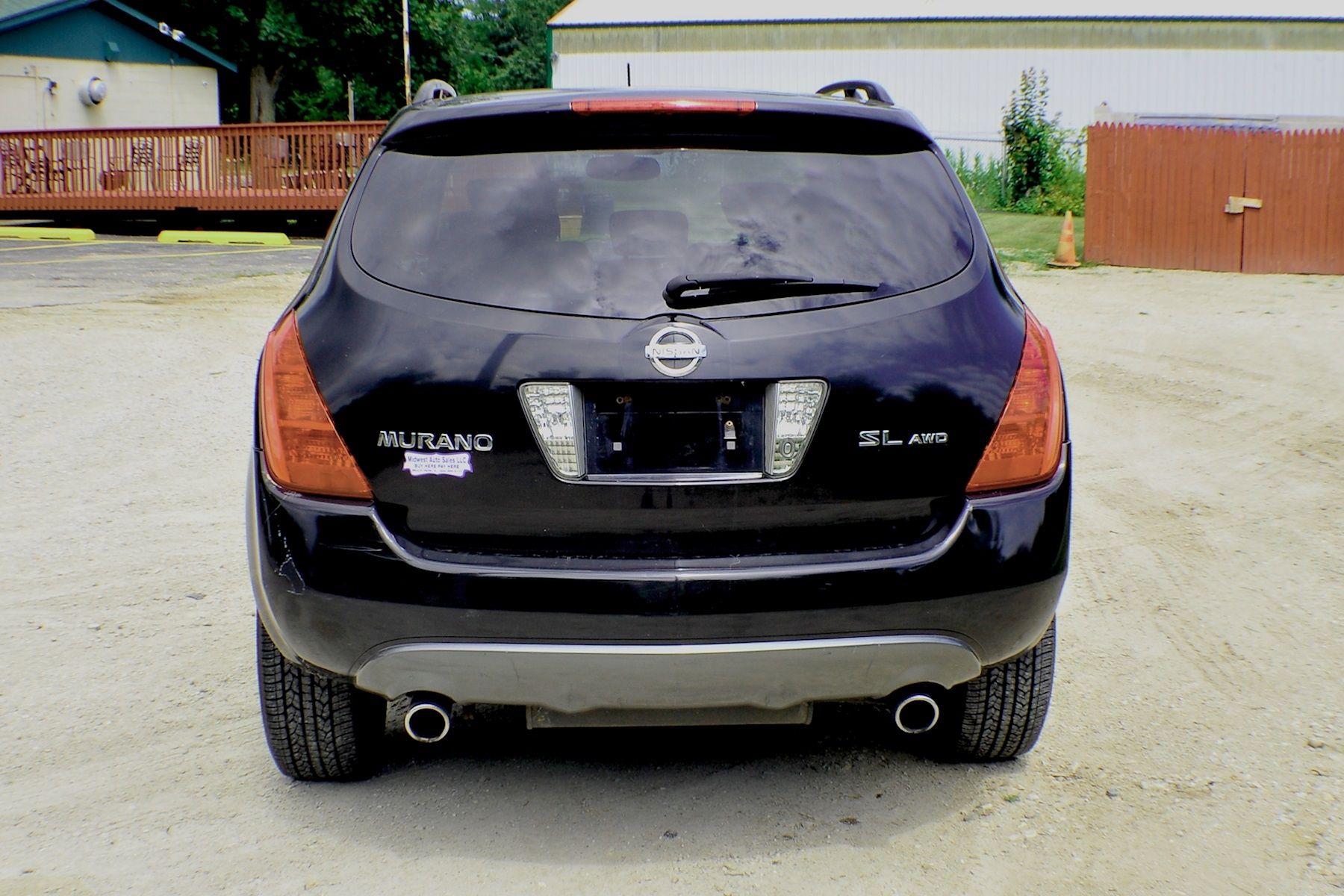 2005 Nissan Murano SL Black AWD SUV Sale Buffalo Grove Deerfield Fox Lake Antioch