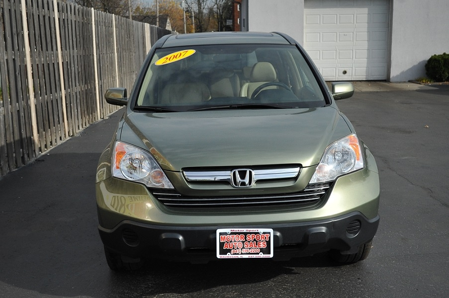 2007 Honda CRV Green Tea Metallic car sale Bannockburn Barrington Beach Park