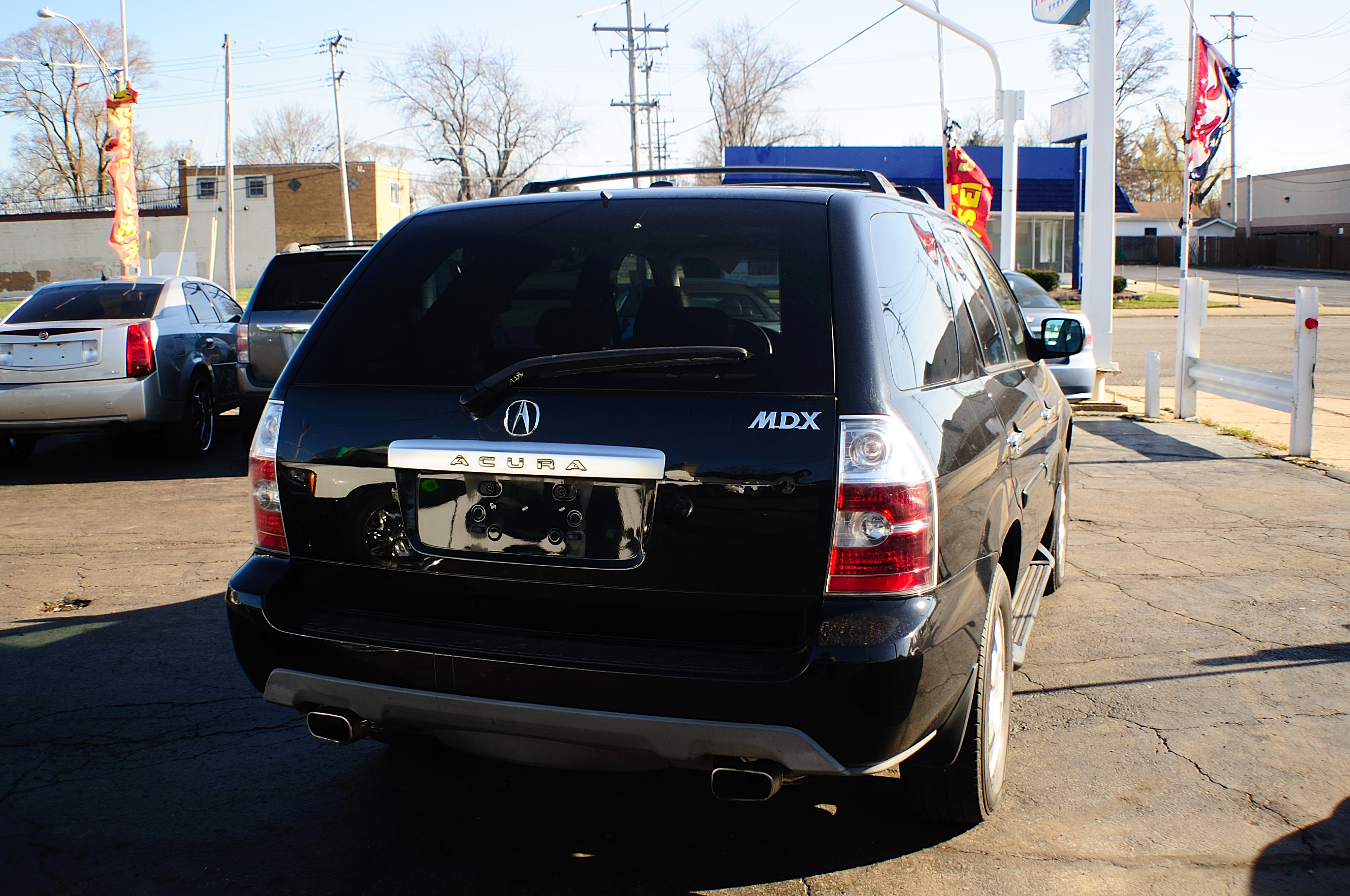 2005 Acura MDX 4Dr Black SUV Used Car Sale Fox Lake Fox River Grove Grayslake Volo