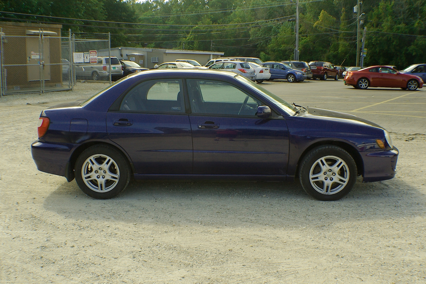 2003 Subaru Impreza Blue AWD Sedan Wagon Used Car Sale Bannockburn Barrington Beach Park