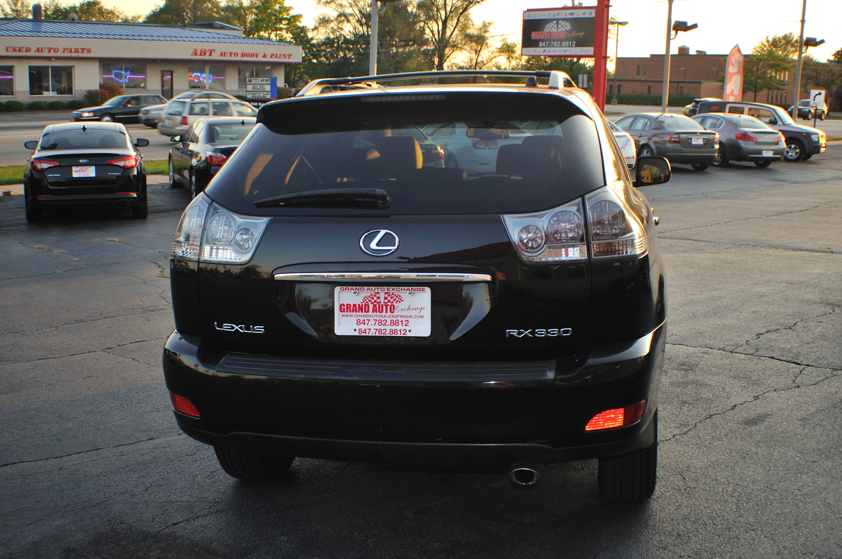 2004 Lexus RX330 Black SUV Car sale Fox River Grove Grayslake Volo